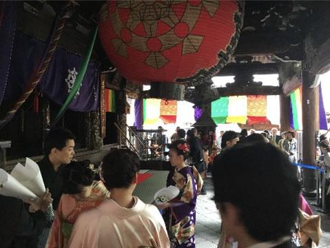 <2018.04.14> 池坊 六角堂花供養会・花行列